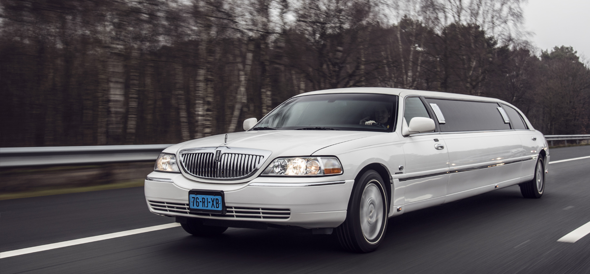 Lincoln Towncar (wit)